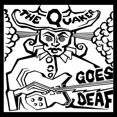 The Quaker Goes Deaf logo