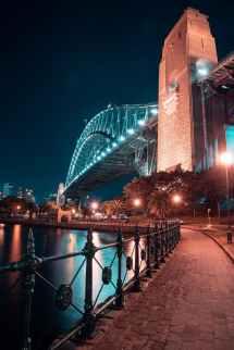 harbor bridge australia